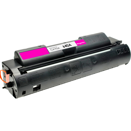 Remanufactured replacement for HP 640A (C4193A) magenta laser toner cartridge