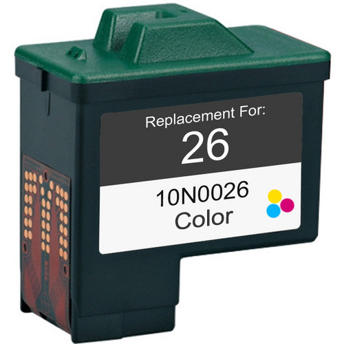 Remanufactured replacement for Lexmark #26 (10N0026)