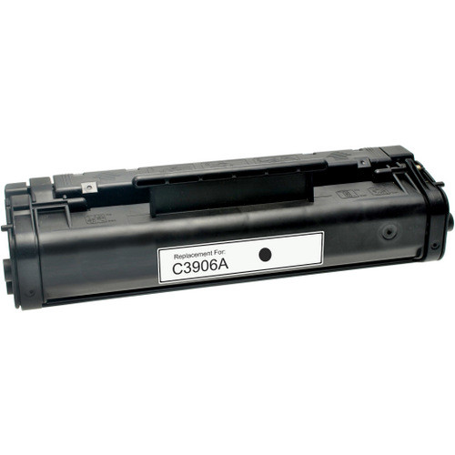 Remanufactured replacement for HP 06A (C3906A) black laser toner cartridge