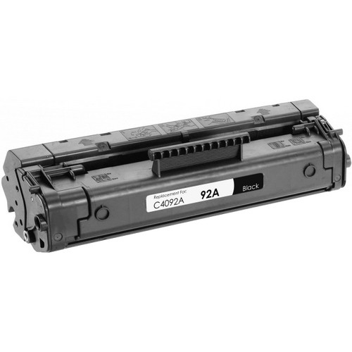 Remanufactured replacement for HP 92A (C4092A) black laser toner cartridge