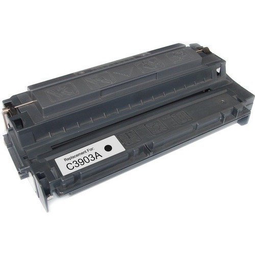 Remanufactured replacement for HP 03A (C3903A) black laser toner cartridge