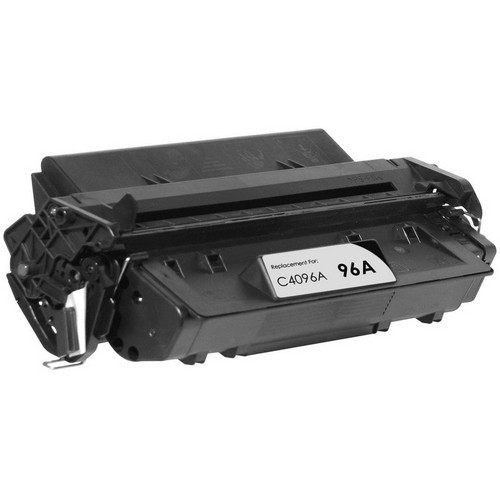 Remanufactured replacement for HP 96A (C4096A) black laser toner cartridge