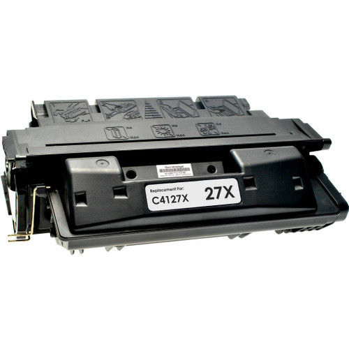 Remanufactured replacement for HP 27X (C4127X) black laser toner cartridge