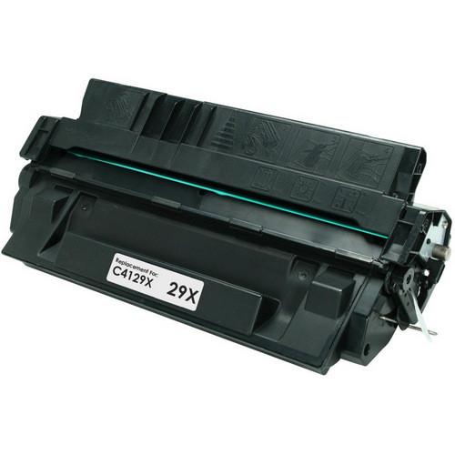Remanufactured replacement for HP 29X (C4129X) black laser toner cartridge