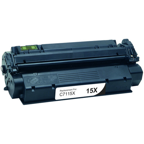 Remanufactured replacement for HP 15X (C7115X) black laser toner cartridge