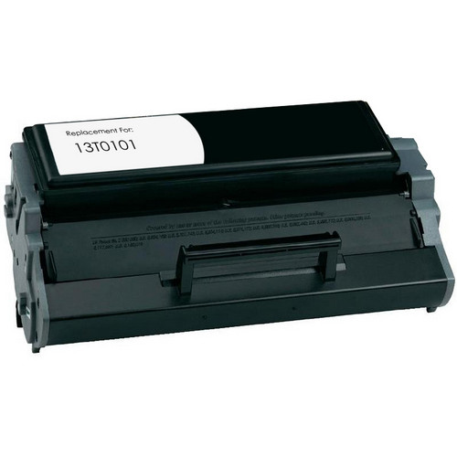 Remanufactured replacement for Lexmark 13T0101 black laser toner cartridge