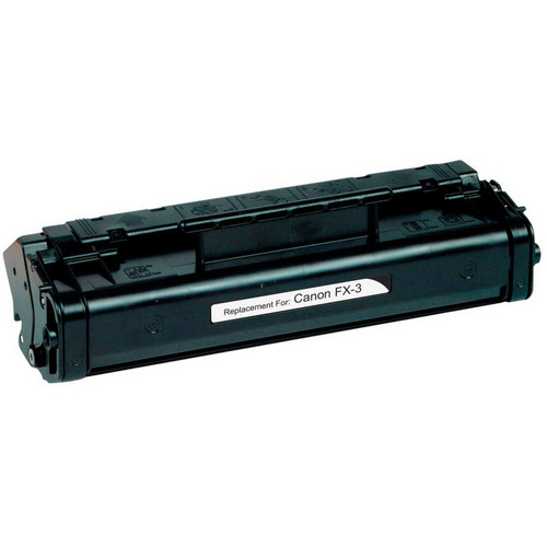 Remanufactured replacement for Canon FX-3 (1557A002BA) black laser toner cartridge