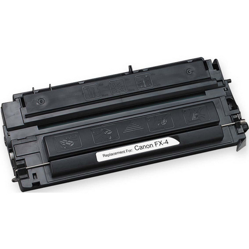Remanufactured replacement for Canon FX-4 (1558A002AA) black laser toner cartridge