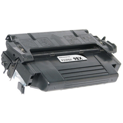 Remanufactured replacement for HP 98X (92298X) black laser toner cartridge