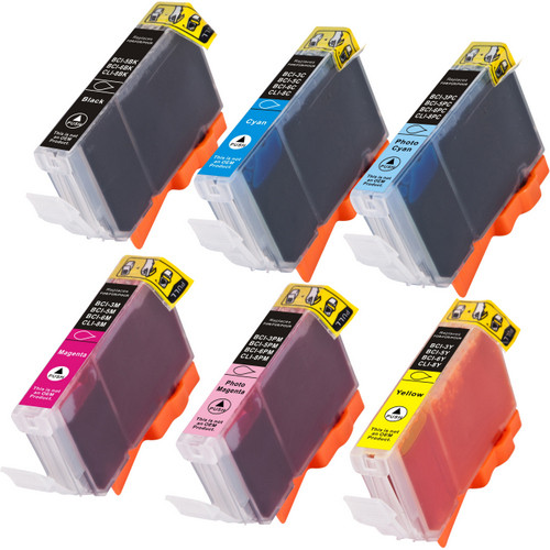 Canon BCI-6 series ink cartridges - 6 pack