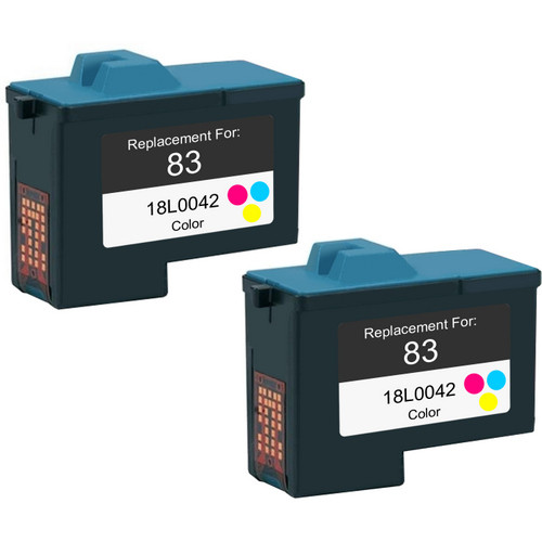Twin Pack - Remanufactured replacement for Lexmark #83 (18L0042)