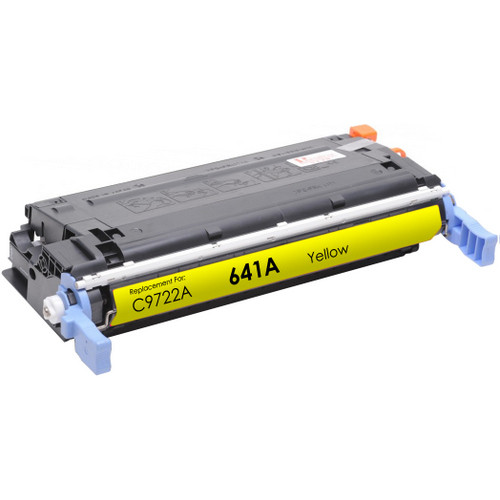 Remanufactured replacement for HP 641A (C9722A) yellow laser toner cartridge