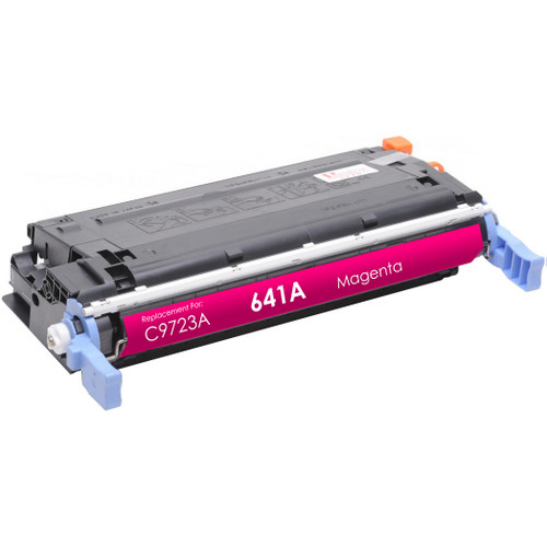 Remanufactured replacement for HP 641A (C9723A) magenta laser toner cartridge