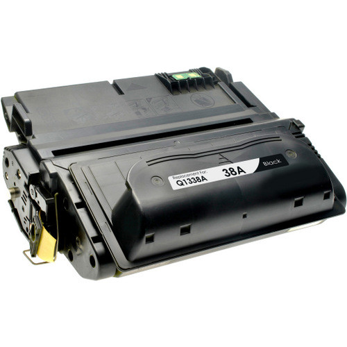 Compatible replacement for HP 38A (Q1338A) black laser toner cartridge
