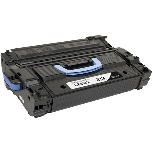 Compatible replacement for HP 43X (C8543X) black laser toner cartridge