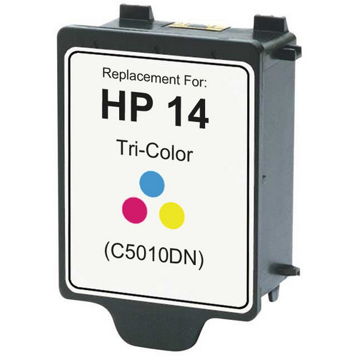 Remanufactured replacement for HP 14 (C5010DN) color ink cartridge