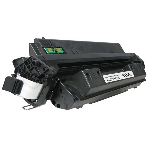 Remanufactured replacement for HP 10A (Q2610A) black laser toner cartridge
