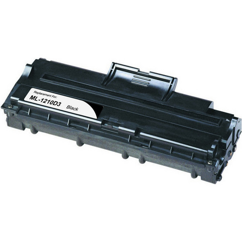Compatible replacement for Samsung ML-1210D3 black laser toner cartridge