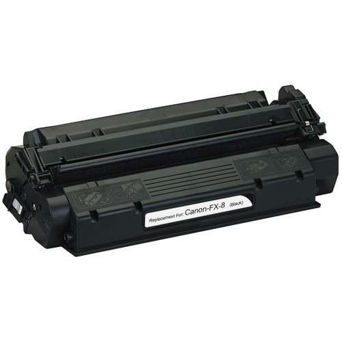 Remanufactured replacement for Canon FX-8 (8955A001AA) black laser toner cartridge