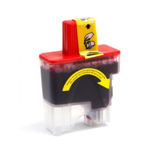 Compatible replacement for Brother LC41M magenta ink cartridge