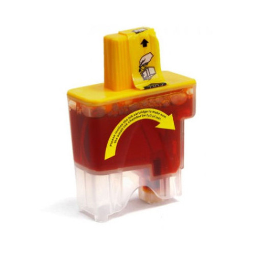 Compatible replacement for Brother LC41Y yellow ink cartridge