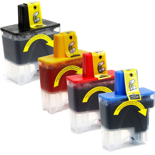 4 Pack - Compatible replacement for Brother LC41 series ink cartridges