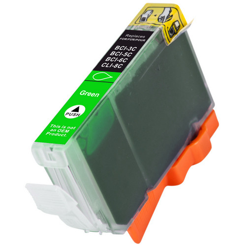 Compatible replacement for Canon BCI-6G (9473A003) green ink cartridge