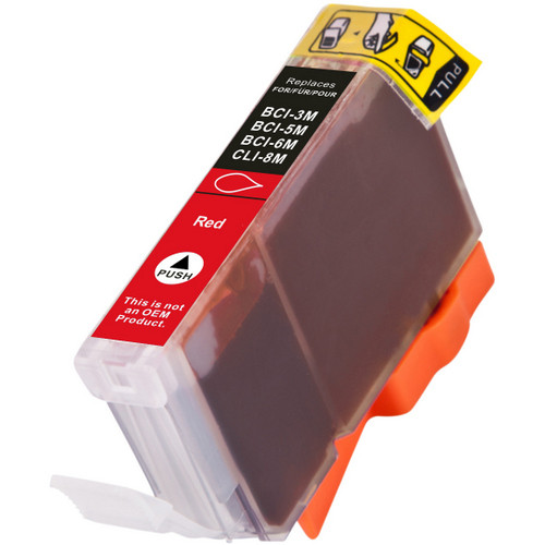 Compatible replacement for Canon BCI-6R (8891A003) red ink cartridge