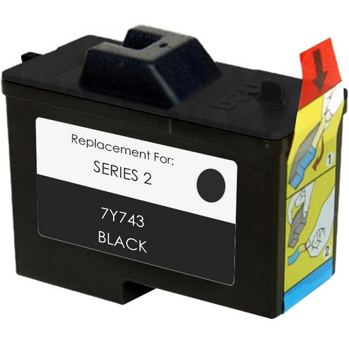 Remanufactured replacement for Dell series 2 (7Y743)