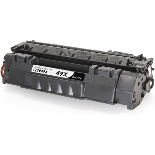 Compatible replacement for HP 49X (Q5949X) black laser toner cartridge