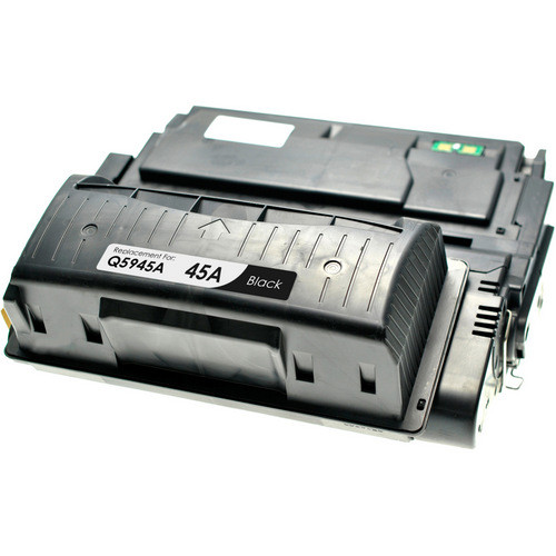 Compatible replacement for HP 45A (Q5945A) black laser toner cartridge