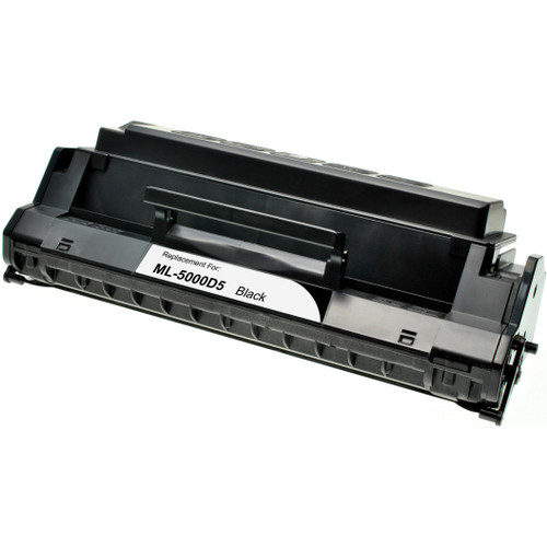 Remanufactured replacement for Samsung ML-5000D5 black laser toner cartridge