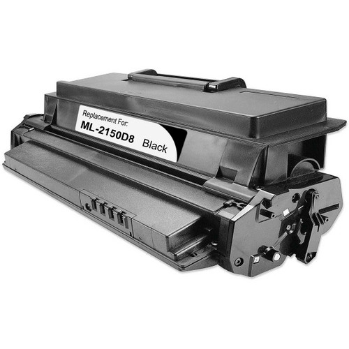 Remanufactured replacement for Samsung ML-2150D8 and ML-2150 black laser toner cartridge