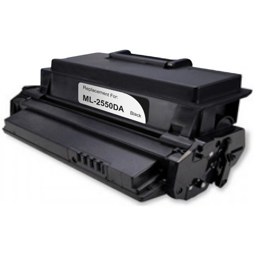 Remanufactured replacement for Samsung ML-2550DA and ML-2550 black laser toner cartridge