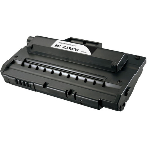 Remanufactured replacement for Samsung ML-2250D5 and ML-2250 black laser toner cartridge