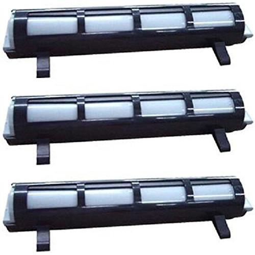 Panasonic KX-FA83 black laser toner cartridges - 3 Pack