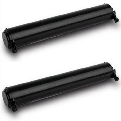 Panasonic KX-FA76 black laser toner cartridges - 2 pack