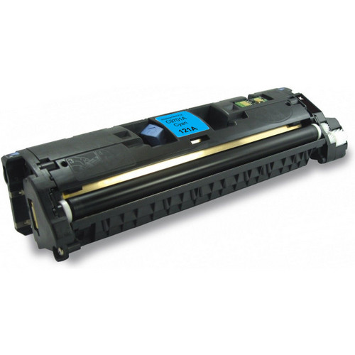 Remanufactured replacement for HP 121A (C9701A) cyan laser toner cartridge