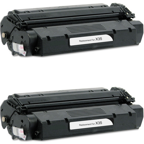 Twin Pack - Compatible replacement for Canon S35 (7833A001AA) black laser toner cartridge