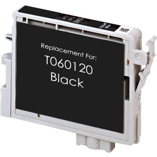 Remanufactured replacement for Epson T060120 black ink cartridge