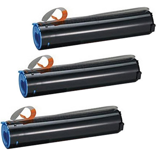 Tri-Pack - Compatible replacement for Canon GPR-10 (7814A003AA) black laser toner cartridges