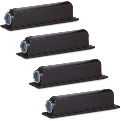 4 Pack - Compatible replacement for Canon NPG-1 (1372A006AA) black laser toner cartridges