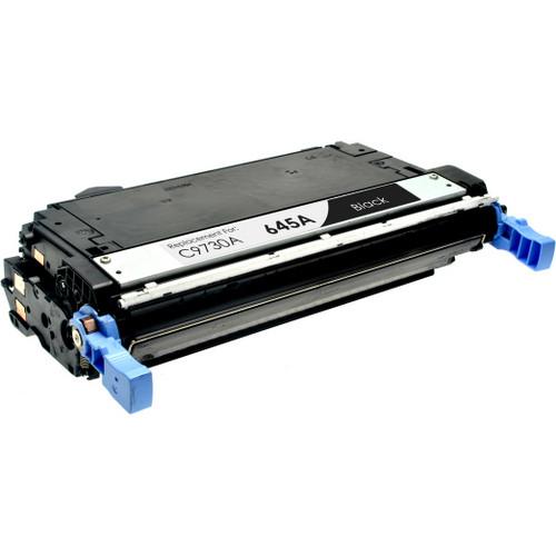 HP 645A Black Remanufactured Toner Cartridge (C9730A)