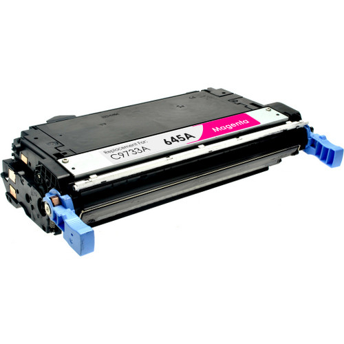 Remanufactured replacement for HP 645A (C9733A) magenta laser toner cartridge
