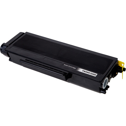Compatible replacement for Brother TN580 black laser toner cartridge