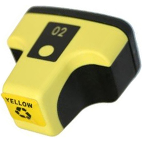 Remanufactured replacement for HP 02Y (C8773WN) yellow ink cartridge