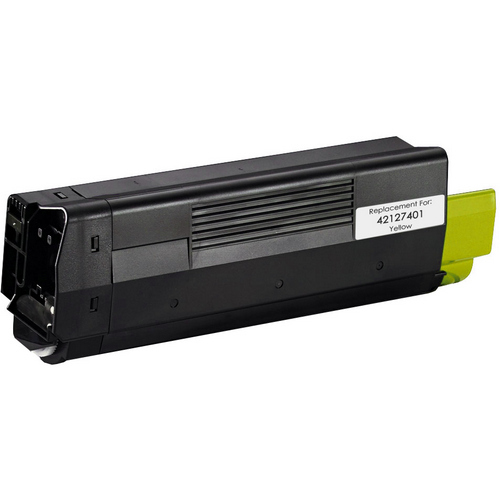 Okidata 42127401 yellow laser toner cartridge