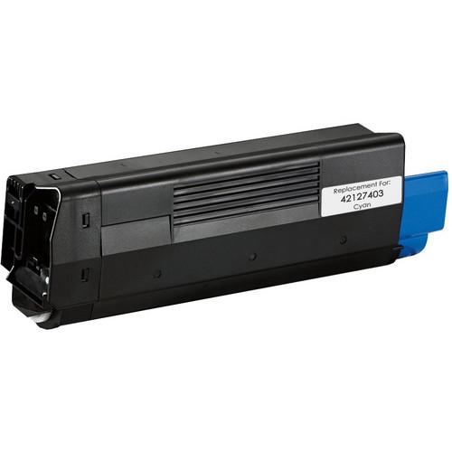 Okidata 42127403 cyan laser toner cartridge
