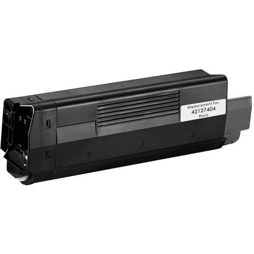 Okidata 42127404 black laser toner cartridge