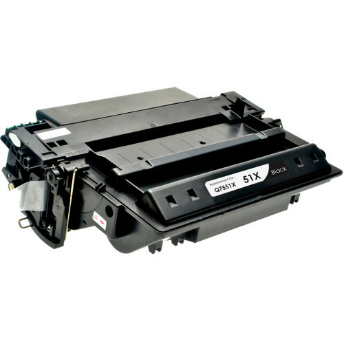 Compatible replacement for HP 51X (Q7551X) black laser toner cartridge